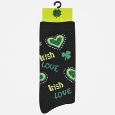 St. Patrick's Day Crew Sock at Shopko by Pacific Legwear