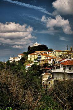 Paleo (old town) Karlovasi on Samos island, North Aegean islands