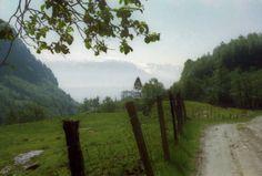 Grüne Landschaft in den Bergen, Foto: U. Kretschmer