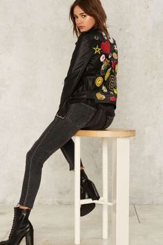 Invasion of the Body Patchers Moto Jacket - Clothes | Grunge | Moto + Leather