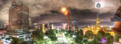 Aniversario del Condominio Acero, primer rascacielos de la ciudad y Monumento Nacional de México.  Adrián de la Garza