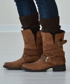 Dark Brown Cate Boot Warmers