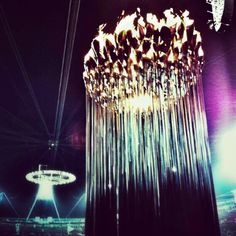 One last look at the #olympicflame before it gets extinguished tonight at the #closingceremony