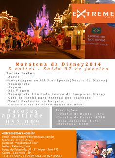 Maratona da Disney 2014