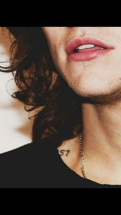 Harry Styles mouth