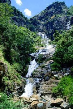 Rawana waterfalls  Sri Lanka