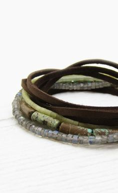 ☆layered bracelets