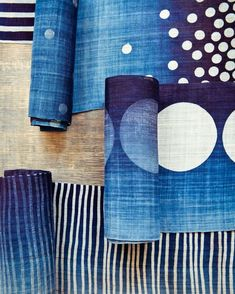 Indigo Textiles Decoration Ideas 102