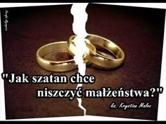 Malec, Gold Rings, Youtube, Motto, Poland, Heaven, Watches, Quotes, Catholic
