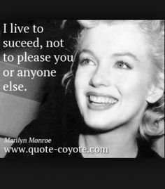 Marilyn Monroe quotes - handpicked collection from Quote Coyote, the ultimate source for funny, inspiring quotes, and quotes about life, love and more. Im Done Quotes, Great Quotes, Quotes To Live By, Me Quotes, Inspirational Quotes, People Quotes, Faith Quotes, Marilyn Monroe Quotes, Just Dream
