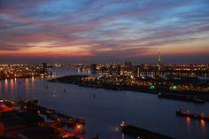 Uitzicht over Manhattan a/d Maas