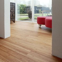 Parquet Bamboo Caramel con supporto in lattice. #pavimenti in #parquet #bamboo #flooring #wood