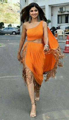 One Shoulder, Shoulder Dress, Shilpa Shetty, Nice, Hot, Sexy, Dresses, Fashion, Vestidos