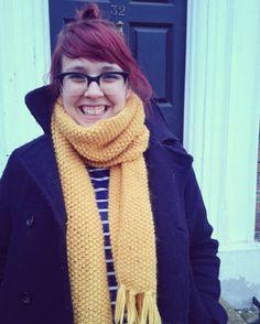 *mustard scarf