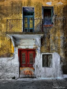 Samos, Greece, Old Cafe *