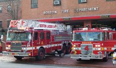 City of Boston- Ladder 24 & Engine 4... First due at the Gahden