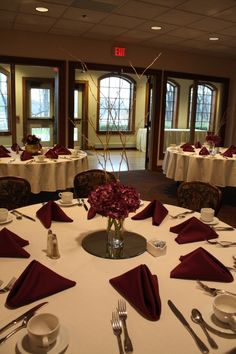 This rich colored fall wedding took place at the beautiful Polish Center of Wisconsin. Fall Wedding, Floral Design, Classy, Table Decorations, Purple, Beautiful, Home Decor, Blush Fall Wedding, Decoration Home