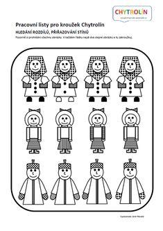 Červený klíček :: e-Chytrolín Kids Education, Thoughts, Games, Early Education