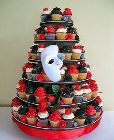 phantom-of-the-opera-cupcake-tower.jpg | by katiskupcakes