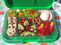 Yumbox spring garden bento box. Lunchbox and all accessories from www.thelunchboxqueen.co.nz. Lunchbox Inspiration – The Lunchbox Queen