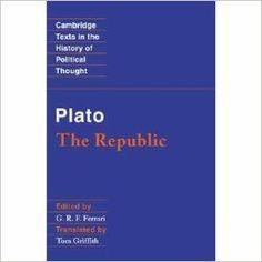 The republic / Plato ; edited by G.R.F. Ferrari ; translated by Tom Griffith Edición 1st publ. Publicación Cambridge ; New York : Cambridge University Press, 2000