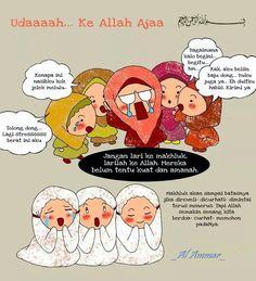 Muslimah Allah Quotes, Muslim Quotes, Quran Quotes, Islamic Quotes, Qoutes, Hijrah Islam, Doa Islam, Ramadan Day, Islamic Cartoon