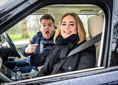 Just over a year since James Corden, 37, moved wife Julia and their two children to Los Angeles to host The Late Late Show, he is reportedly keen to move back to Britain. He is pictured with Adele for 'Carpool Karaoke'