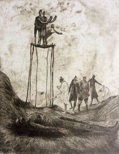 Image result for necromancer etching