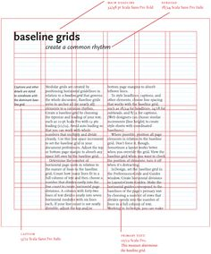 Building Better UI Designs With Layout Grids — Smashing Magazine A baseline grid shapes the vertical spacing of a design. Here, a modular grid is created by positioning horizontal guides relative to a baseline grid. Web Design, Layout Design, Graphic Design Layouts, Grid Design, Print Layout, Graphic Design Inspiration, Grid Graphic Design, Graphic Designers, Contents Page Design