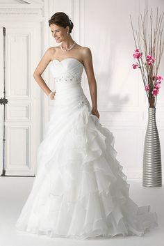 Fem Collection 2014 SN6015W by Tres Chic #bruidsmode #trouwjurken @ www.femweddingshop.nl