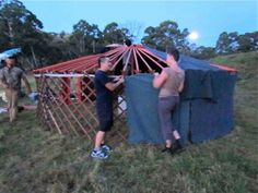 Dave and Phoebe's DIY Yurt