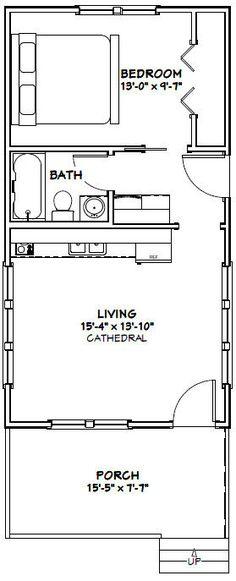Super Kitchen Layout Small Floor Plans Tiny Homes Ideas Small Floor Plans, Cabin Floor Plans, Layouts Casa, House Layouts, House Layout Plans, Small House Plans, Guest House Plans, Casa Loft, Casas Containers