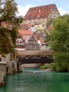 Things to Do in Schwabisch Hall, Germany Great Places, Places To See, Beautiful Places, Voyage Europe, Covered Bridges, Germany Travel, Vacation Spots, Travel Photos, Travel Inspiration
