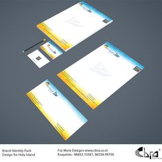 Brand Identity Pack Designed for Holy Island.
