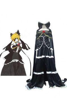 Vocaloid Kagamine Rin Black Style Halloween Costumes