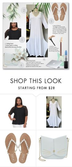 """""""&& ComfyPlus&& 17/VI"""" by nura-akane ❤ liked on Polyvore featuring Dana Buchman, M&Co, Ted Baker, MAC Cosmetics, Dyson and plus size clothing"""
