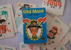 Old Maid was a favorite card game...
