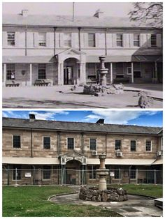 Gladesville Mental Hospital 1953 > 2015 [1953: State Library NSW, 2015: Photo by Curt Flood. By Curt Flood]