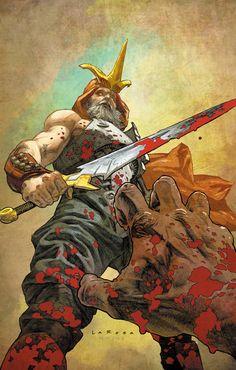 Eternal Warrior #8 regular cover by Lewis Larosa