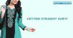 Online Shopping Store For Kurtis. Shop now @eSTOOR.com...... Online Shopping Websites, Online Purchase, Kurtis, Ecommerce, Shop Now, Women's Clothing, Clothes For Women, Cotton, Stuff To Buy