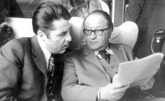 Bruno Kreisky (hier mit Heinz Fischer) Held, Couple Photos, Couples, Fictional Characters, Livres, Drawings, History, Quotes, Couple Shots