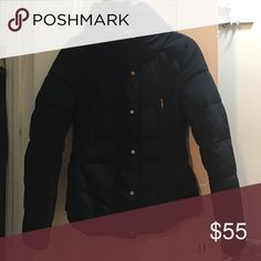 Zara puffer In great condition super warm color is navy blue Zara Jackets & Coats Puffers