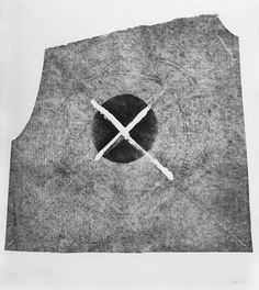 "Witold Winek ""uoVIII"". 87X78, relief print, 2013"