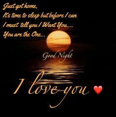Sweet Dreams My Handsome Man Quotes Good Night I Love You Love