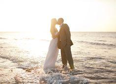 We can't resist these fabulous Trash the Dress photos! #beachwedding #destinationwedding #weddingdress