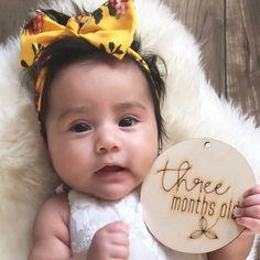 Trésor de trois mois! 💛 Three months precious one ! #francemarsstudio  📷 @venisharos3
