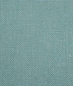 Light Blue Sultana Burlap Fabric - $5.25 | onlinefabricstore.net curtains