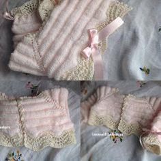 LA CANASTILLA DE CHARO: CHAQUETA BEBE 4-6 MESES PRIMAVERA III Baby Jumper, Baby Socks, Baby Cardigan, Baby Knitting, Crochet Baby, Knit Crochet, Tricot Baby, Knitting Patterns, Crochet Patterns
