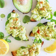 Avocado Egg Salad (mayo-free!)