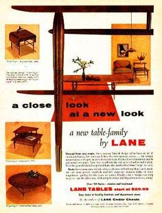 Modern Furniture Ads lane hope chest | ebay | lane furniture ads | vintage | mcm